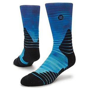 Stance Underwear & Socks - New Men's Stance Fusion Basketball Crew Socks